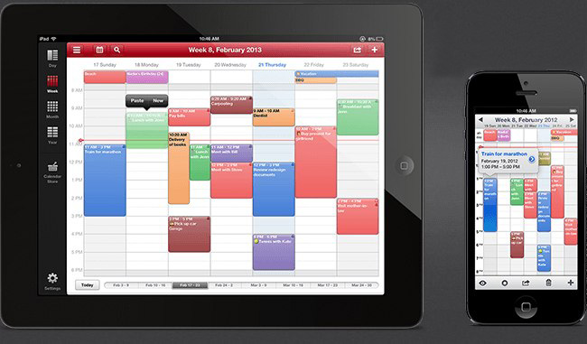 Weekly Calendar App : Applications ipad indispensables pour étudiants bravo