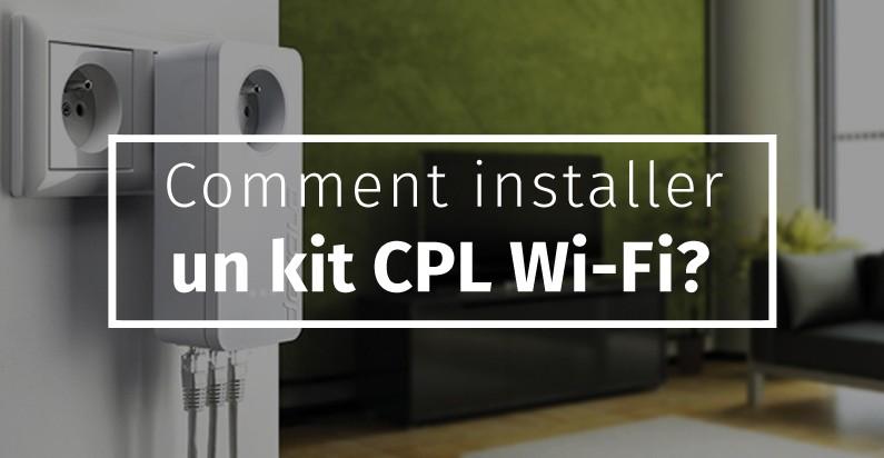 comment installer un kit cpl wi fi blog bravo. Black Bedroom Furniture Sets. Home Design Ideas